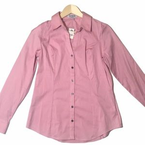 NWT Express Ultimate Essential Button Down Shirt
